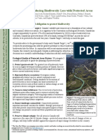 Policy Brief on Ecological Principles to Identify Protected Areas and Reduce Biodiversity Extinction