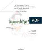 Tesina en Plataforma PIPER ALPHA
