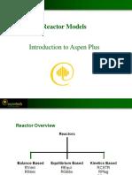 Aspen Reactores