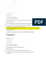 Evaluaciones Marketing Avanzado 1 2 3