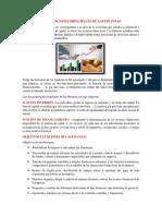 Las Funciones Principales de Las Finanzas