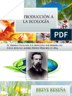 (1) Introduccion a La Ecologiaa