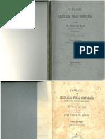Franz Von Liszt. Legislação penal brasileira comparada