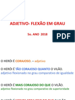 Ppt Grau Do Adjetivo 2017 (1) (1)