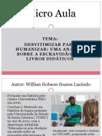 Desvitimizar para humanizar