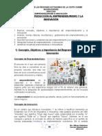 EMPRENDEDURISMO E INNOVACIÓN.doc