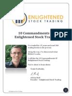 The 10 Commandments of Enlightened Stock Trading v3