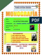 MONOGRAFIA   ESTRUCTURALISMO IBETH