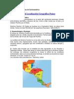 Localización Geográfica de Centroamérica