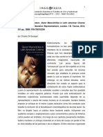 Queer Masculinities in Latin American Cinema (2014)