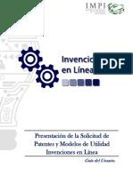 Manual para patentes