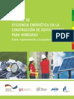 Manual de Eficiencia Energetica en La Construccion de Edificaciones en Honduras