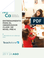 Laboratorio TeachStone 2019-2