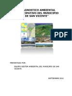 Diagnostico ambiental San Vicente