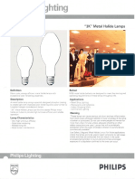 Philips 3K Metal Halide Lamps Bulletin 1-90