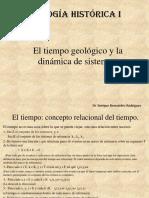 Geología Histórica 2 El Tiempo Geológico y El Sistema Terrestre