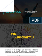 Presentación psicometria