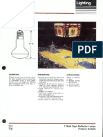 Philips 7 Watt Sign Reflector Lamps Bulletin 3-87