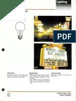 Philips 33 Watt Sign Lamps Bulletin 3-85