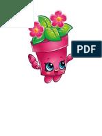 Shoppins Maceta Rosa y Flores
