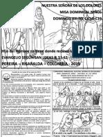 HOJITA EVANGELIO NIÑOS DOMINGO XIII TO C 19 BN