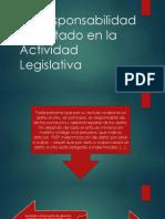 La Responsabilidad Del Estado en La Actividad Legislativa