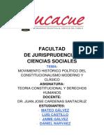 Trabajo Constitucionalismo Moderno y Clasico (1)