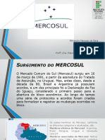 Mercosul Aladi Slides
