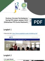 Panduan Pembelajaran Daring PPG Dalam Jabatan 2019-2