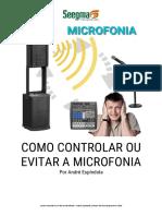 como evitar microfonia em audio
