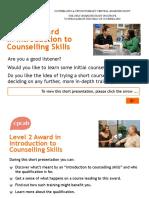 ICSK counselling L2