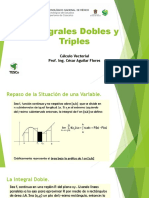 Integrales Dobles y Triples