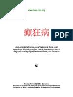 a Tradicional China en La Enfermedad Dian Kuang