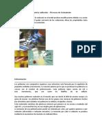 Industria Radiación - Procesos de Tratamiento