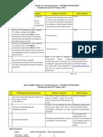 Feasibility Studies Clarifications 10th January 2013