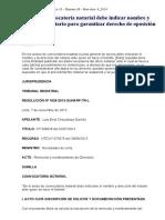 Aviso de Convocatoria Notarial Debe Indicar Nombre y Dirección Del Notario Para Garantizar Derecho de Oposición