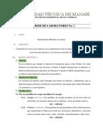 Informe 1. de Hidraulica