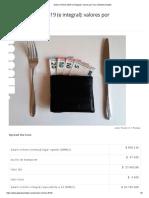 Salario Mínimo 2019 (e Integral)_ Valores Por Hora _ GlobalContable