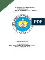 (Spo)Standar Prosedur Operasional