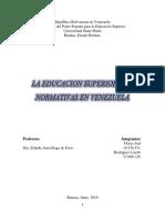 la educacion superior y sus normativas en venezuela.docx