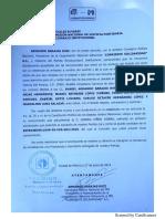 Procedimiento Sancionador contra Lorena Piñón