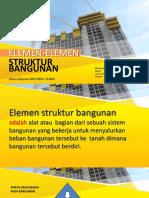 Bahan Ajar Ppt Elemen Struktur konstruksi bangunan