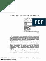 Octavio Paz del texto al metatexto.pdf