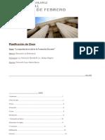 Planificación de Clase La Experiencia en La Formacion Docente Para Entregar e Imprimir