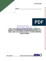 Batas Cemaran Kimia Dalam Pangan - SNI 7501_2009