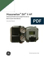 Mn Svi II AP Bench Quick Start Manual Gea32138d English