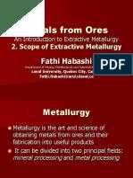 Scope of Metallurgical