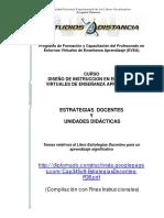 Estrategias docentes y unidades didacticas