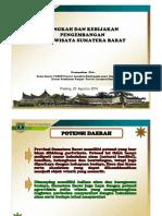 Paparan Kebijakan Argo Wisata Komisi II DPRD