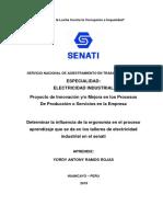 Proyecto de investigación de SENATI
